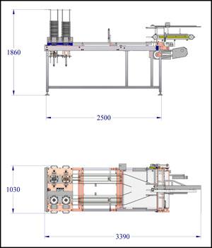 Foil tray de nester for Built by nester