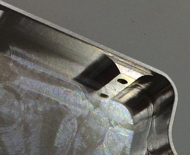 thin wall machining in steel